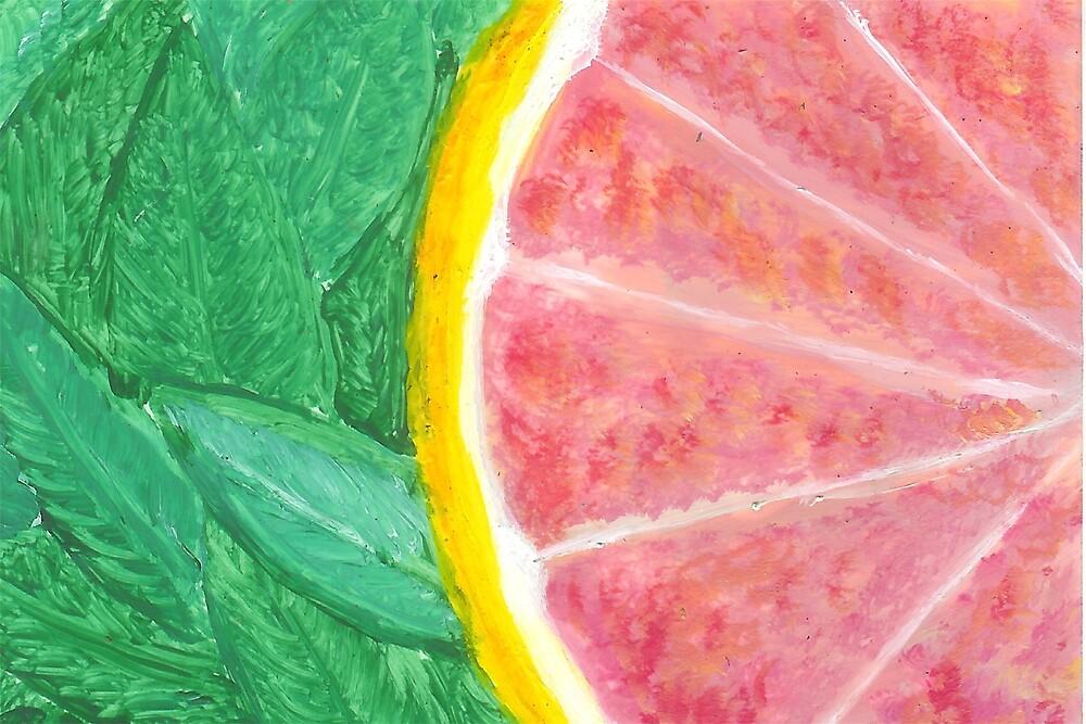 Pink Grapefruit by Carol Megivern