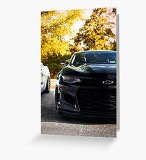 Chevy Camaro Greeting Card