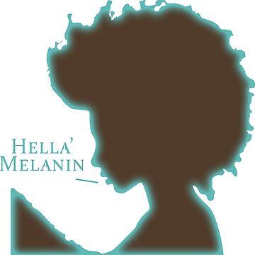 Hella Melanin by Gimmedis
