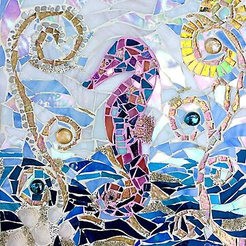 Seahorse Mosaic by janmarvin