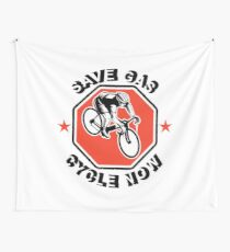 Cyclist Wall Tapestry