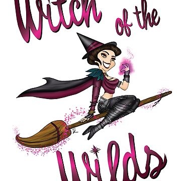 Witch of the Wilds (Bewitched cross over) by BPPhotoDesign