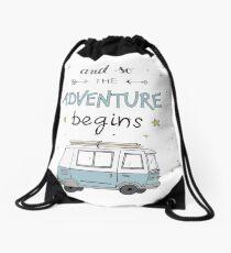 Mochila de cuerdas and so the adventure begins