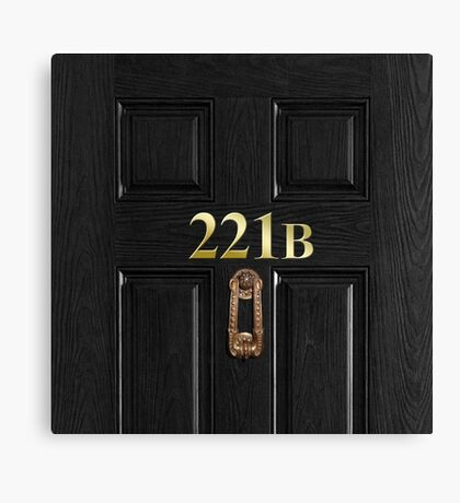 221b Bag Canvas Print