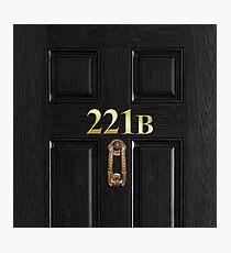 221b Bag Photographic Print