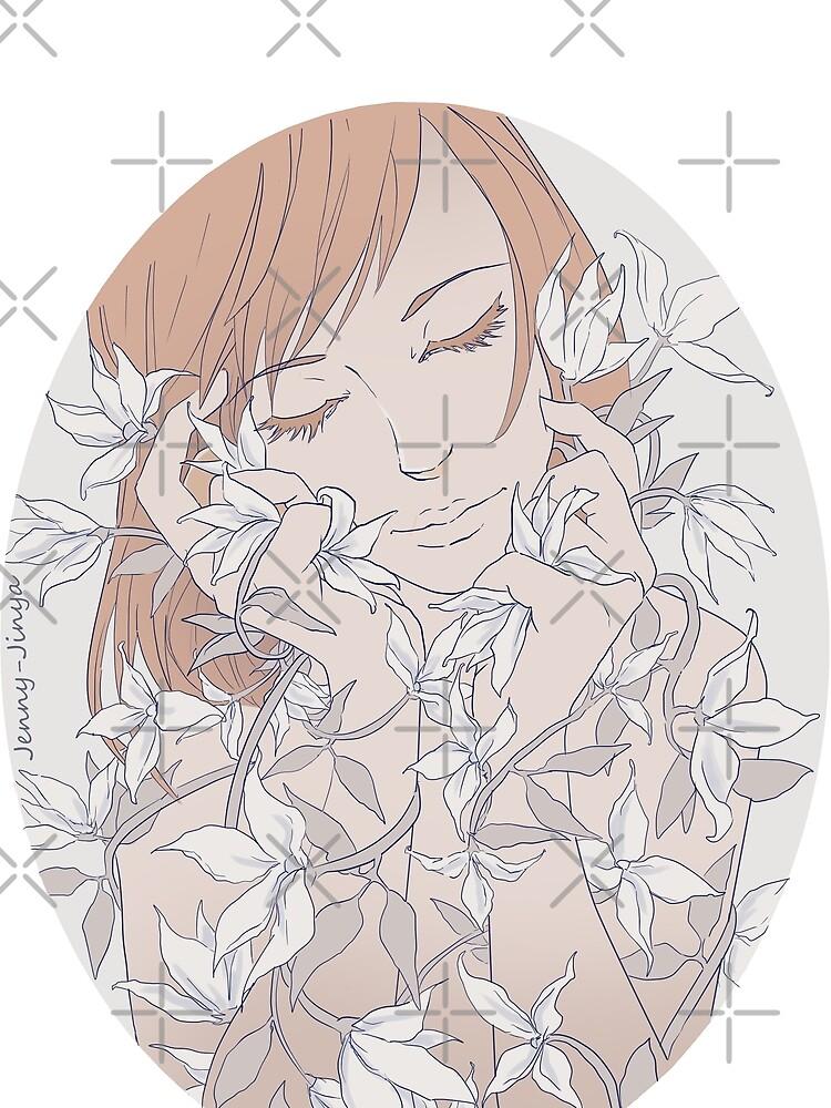 Gentle flowers by JennyJinya