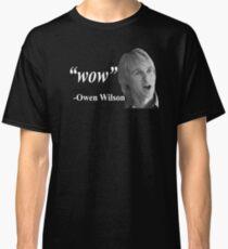 "Camiseta clásica ""Guau"" - Owen Wilson"