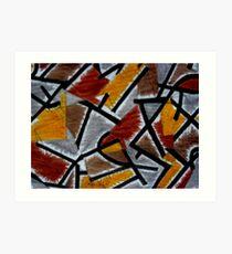 Abstract Leger Art Print
