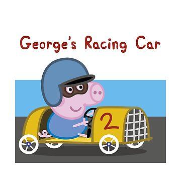 George's Racing Car - Peppa Pig by 815seo