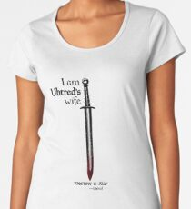 The Last Kingdom- Uhtred's Wife Women's Premium T-Shirt