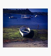 Boat on a lake Photographic Print