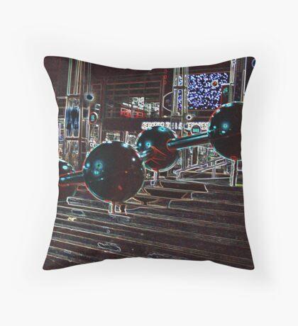 Night Science Throw Pillow