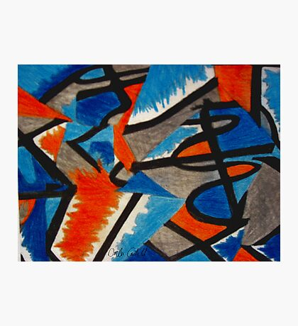 Abstract Leger no.2 Photographic Print