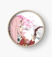 002 (Larger ) Darling in the Franxx Clock