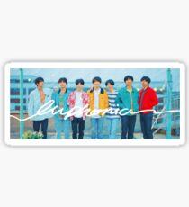 Cute BTS Group Euphoria Shirt Design : Love Yourself Series  Sticker