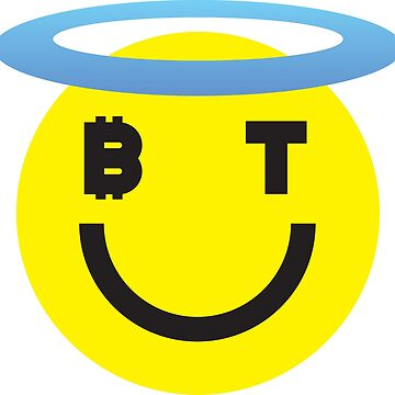 Bitcoin Halo Smiley by Bitcoin-Smiley