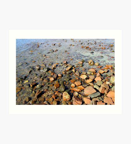 Rocks to the Horizon (V1) Art Print