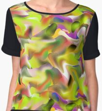 Simply Colorful Chiffon Top