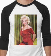 MARILYN MONROE 1952 Men's Baseball ¾ T-Shirt