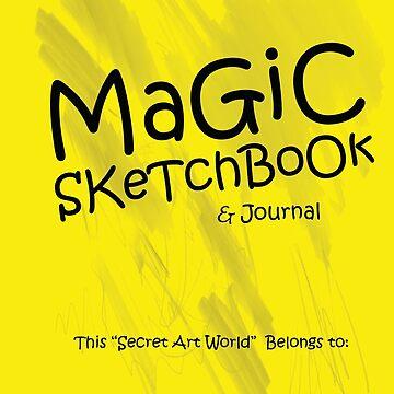 MAGIC SKETCHBOOK by ArtUwant