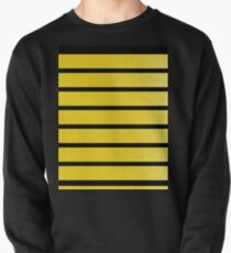 Queen Bee pattern Pullover Sweatshirt