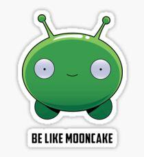 Be Like Mooncake Sticker