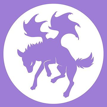 Zelaphas Drago-Yena Logo - White by Zelaphas