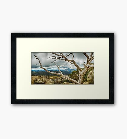 Cresta Valley - Mt Buffalo Framed Print