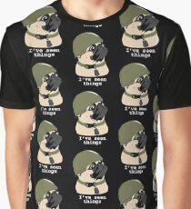 Pug of War Graphic T-Shirt