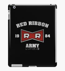 RED RIBBON ARMY 1984 iPad Case/Skin