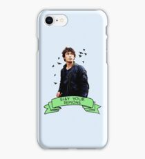 Slay Your Demons iPhone Case/Skin