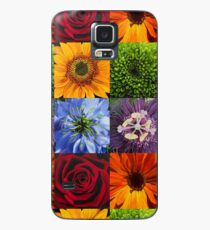 Flowers of the colour wheel. Case/Skin for Samsung Galaxy
