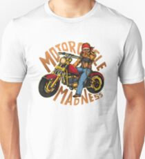 Motorcycle Madness - Motorcycle Unisex T-Shirt