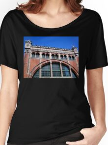 Power Station Façade, Malmo, Sweden Women's Relaxed Fit T-Shirt