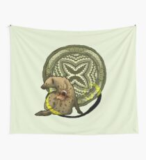 The Mouth of Resourcefulness Wall Tapestry