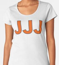 "The Conspiracy Theory of the 3 ""Js"" Women's Premium T-Shirt"