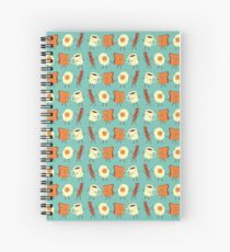 Let's All Go And Have Breakfast Spiral Notebook