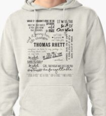 thomas rhett life changes album lyrics Pullover Hoodie