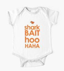 Shark Bait  Short Sleeve Baby One-Piece