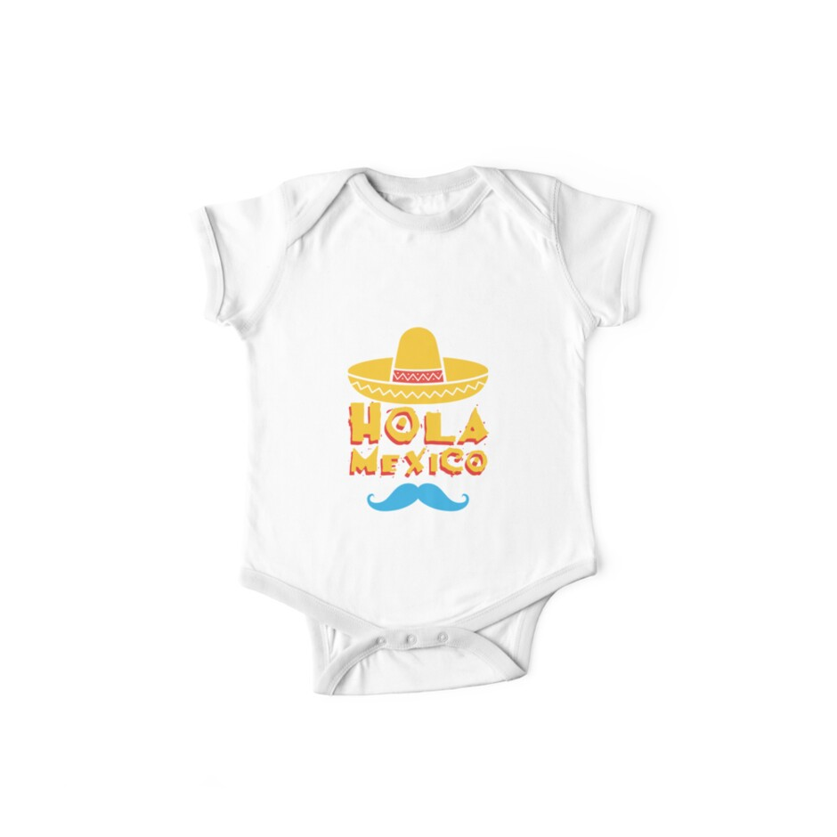 abe00ab7c Hola Mexico Cute Cinco De Mayo Cute Gift Idea