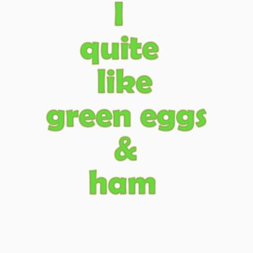 green eggs and ham by artemis74