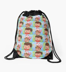 Albertsstuff + Flamingo Drawstring Bag