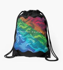 A Mellow Fellow  Drawstring Bag