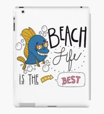 Beach life is the best T-shirt design , Unisex tees  iPad Case/Skin