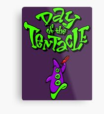 Maniac Mansion - Day of the Tentacle Metal Print