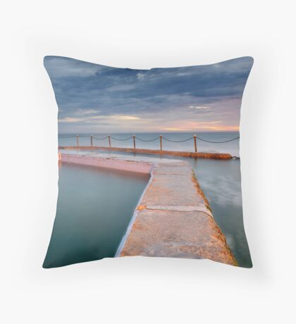 @ the pool, by the beach... Throw Pillow