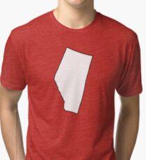 Alberta - Blank Tri-blend T-Shirt