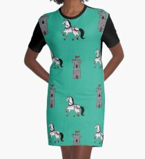Medieval Graphic T-Shirt Dress