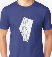 Alberta - Text Unisex T-Shirt