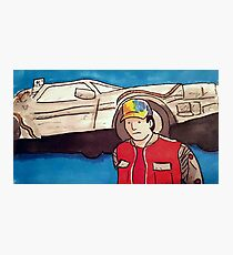 Marty Mcfly BTTF print Photographic Print